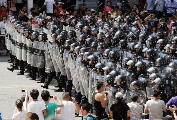 Forces anti-émeute